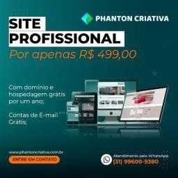 Criação de Sites - Promoção 12 X49,90