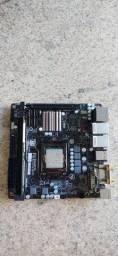 Placa gigabyte ga-h97n-wifi com defeito no slot do processador