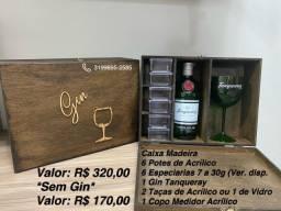 Kit Gin a partir de R$ 39,90 a R$ 320,00