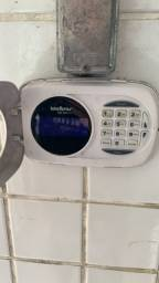 Central de alarmes com sensor