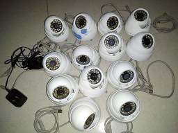 Cameras usadas mais boa para uso 12 unidades