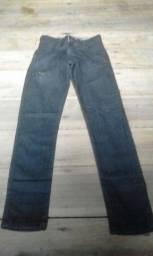 Calça jeans masculina infantil tamanho 32