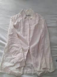 Vende-se blazer linho e calça branca