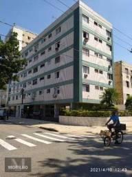 Apartamento com 2 dormitórios para alugar, 90 m² por R$ 1.700/mês - Estuário - Santos/SP