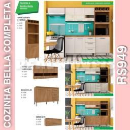 Armário de cozinha bella armário de cozinha bella completa -01949499(