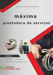 Eletricista de instalação predial, reformas elétricas.