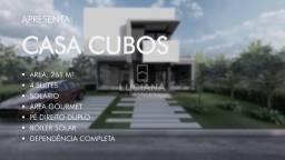 Lançamento - Casa com 4 suítes + Dependência (Cód.: lc306)