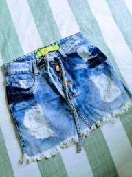 Saia jeans n36
