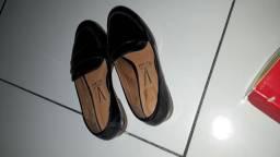 Sapato Verniz Cristal Brilho Preto