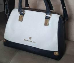 Bolsa smartbag preta e branca