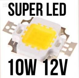 Led chip 10w arduino refletores led