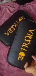 Kit pra treinamento de muay thai novo +saco de pancada