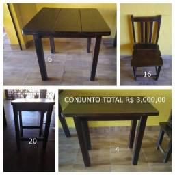 Mesas para bar e restaurante