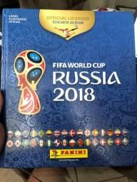 Álbum Capa Dura Copa do Mundo 2018 - COMPLETO
