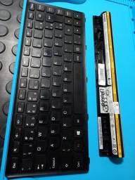 Teclado e Bateria Lenovo Ideapad S400