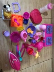 Brinquedos tudo por 350,00