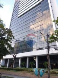 Flat com 1 dormitório para alugar, 40 m² por R$ 2.800,00/mês - Boa Viagem - Recife/PE