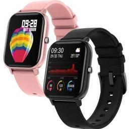 Smartwatch P8 SE Coloca foto na tela
