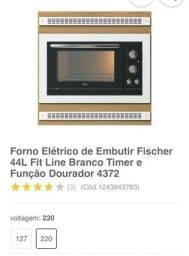Forno Elétrico 220V Fischer FIT 44L Cromado