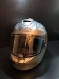 HJC rpha Max evo silver tamanho L