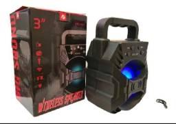 Caixa de Som Bluetooth Led KTS-1057
