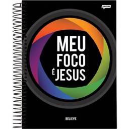 Caderno Believe Universitário 10 matérias