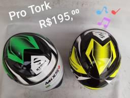 Capacete Mixs R Helmets Eagle, Pro Tork