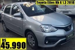 Toyota Etios Hb X 1.3 2018