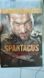 box dvd serie spartacus -sangue e areia primeira temporada (lacrado)