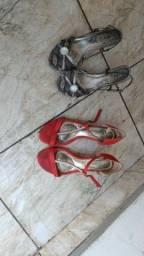 Sandálias de salto