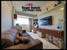 Residencial Santa Teresa - 2 quartos - Nascente total - Andar alto - Varanda - Ventilado