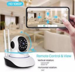 Câmera Robô 3 Antenas Ip Wifi com rotação 360º 720p