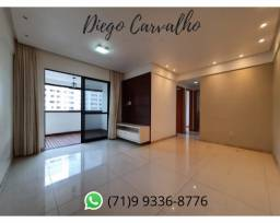 Pronto para você morar, seu apartamento ¾ no Salvador Privilege! (C2)