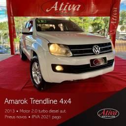 VW/ AMAROK TRENDLINE TDI 4X4 2013