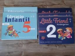 Livros Educação infantil 5 anos Adventista (Português e Inglês)