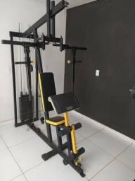 Estação de Musculação Reforçada c/ puxadores