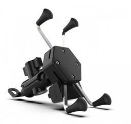 Suporte Celular Moto Com Carregador Universal Usb Garra aranha