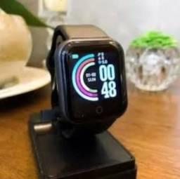 Relógio inteligente smartwatch preto