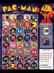Troco ou vendo tazos Pac-Man
