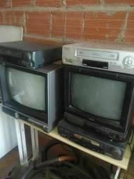 Tv preto e branco antigo para uzar ou para decoração