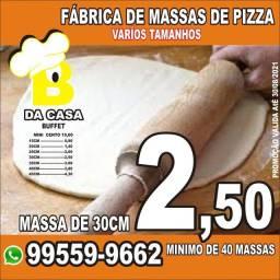 Massa de pizza pré assada