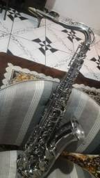 Título do anúncio: SAX saxofone tenor galasso Gobe Brasil lindo raro