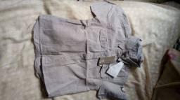 Conjuntos e camisas em preços promocionais