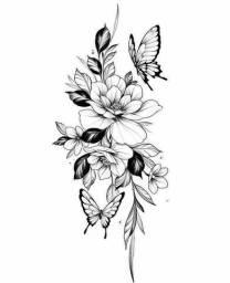 Tatuagem para divulgaçao