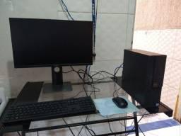 Computador completo Dell i7 Nona geração, 16 GB ddr4, monitor 23 Full HD