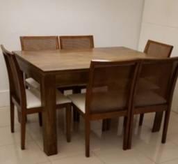 Mesa e 6 cadeiras (só hoje, promoção!!1600)