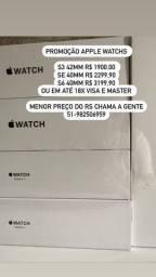 MUNDICELL APPLE WATCH S3 42MM LACRADO ORIGINAL UM ANO DE GARANTIA APPLE