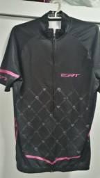 Camisa Ciclismo ERT feminina Tam M