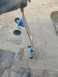 Longboard com rolamento novo