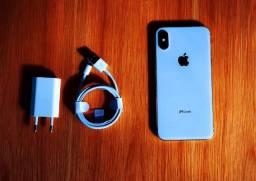 Vendo iPhone X Branco 64Gb *Leia a descrição*